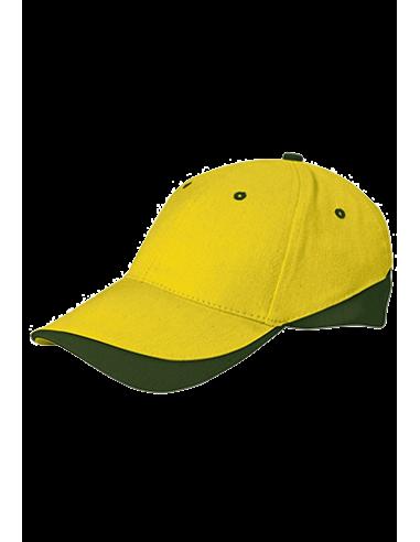 Gorra Combinada Algodón Peiteado